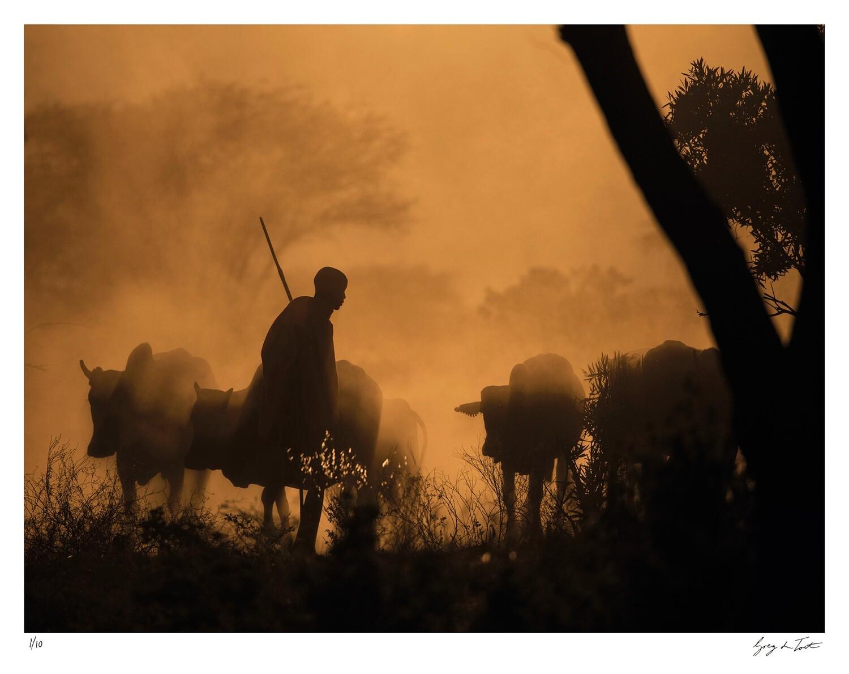 Tribal Heritance - Maasai Shepherd | Ed 10 | Greg Du Toit