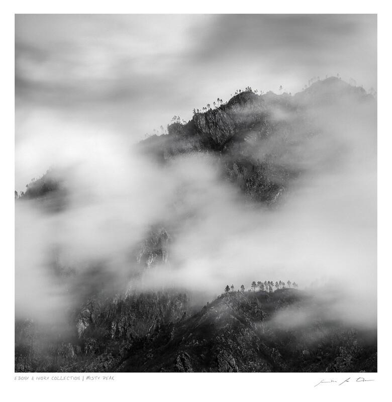 Ebony & Ivory - Misty Peak | Ltd Ed | Samantha Lee Osner