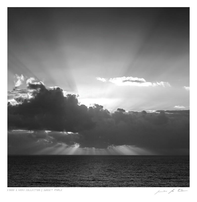 Ebony & Ivory - Sunset Finale | Ltd Ed | Samantha Lee Osner