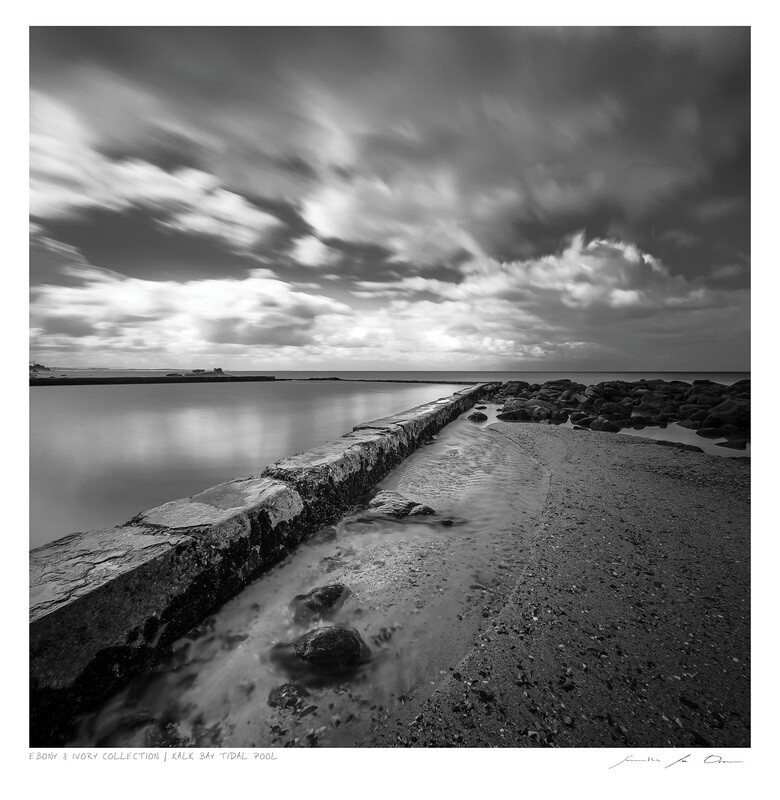 Ebony & Ivory - Kalk Bay Tidal Pool | Ltd Ed | Samantha Lee Osner