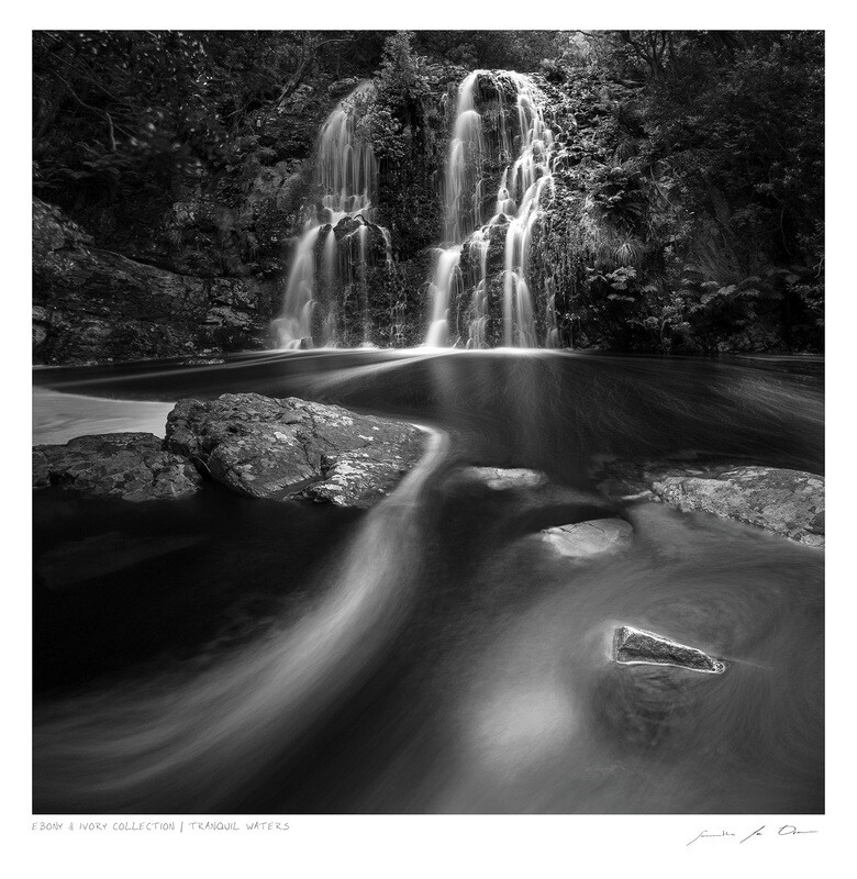 Ebony & Ivory - Tranquil Waters | Ltd Ed | Samantha Lee Osner