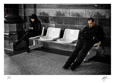 Waiting for a train | St. Peters station | Belgium | Edition 10 | Harry De Zitter | Harry De Zitter