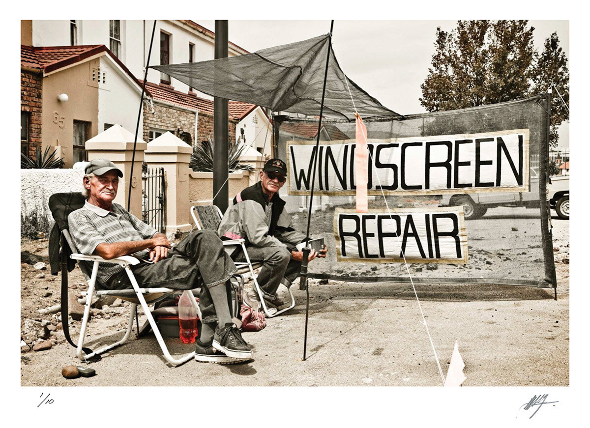 Roadside windscreen repair men | Port Elizabeth | Ed 10 | Harry De Zitter