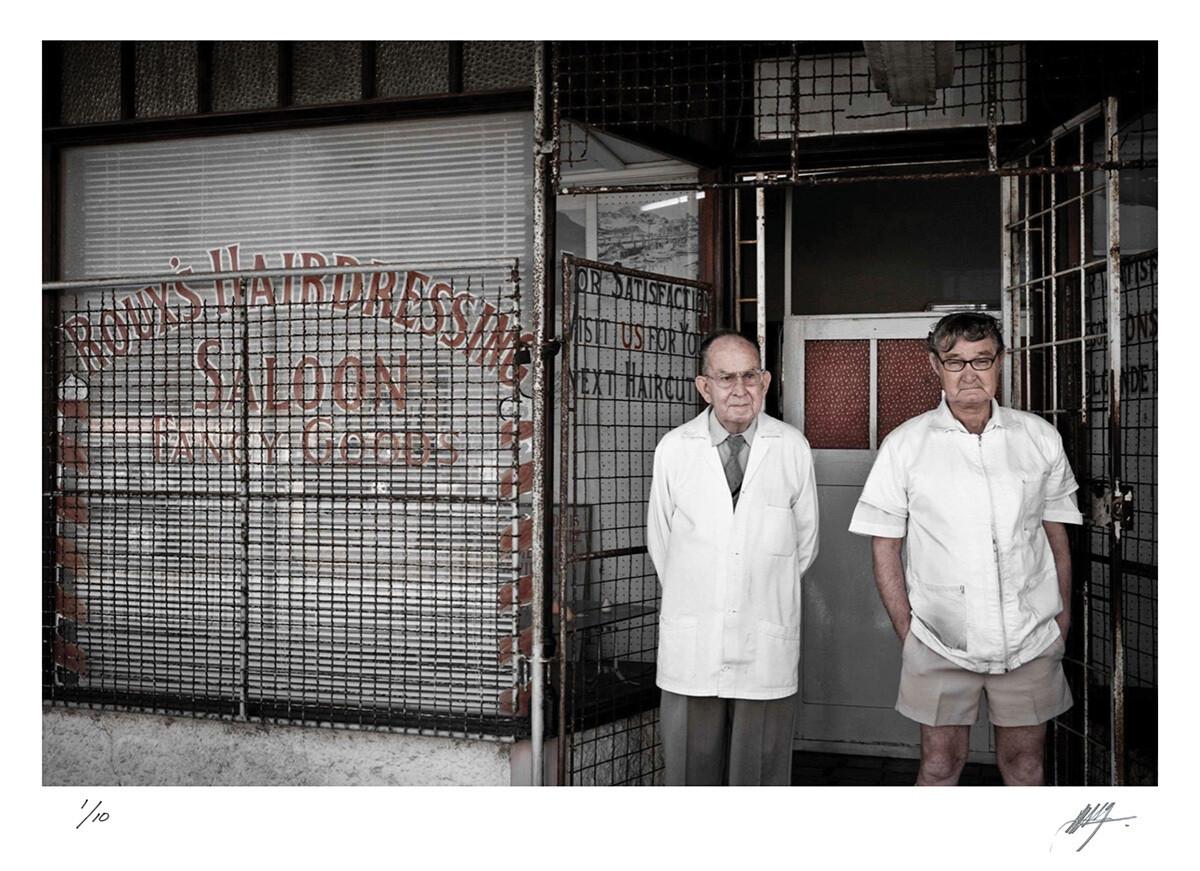 Two barbers | Port Elizabeth | Ed 10 | Harry De Zitter