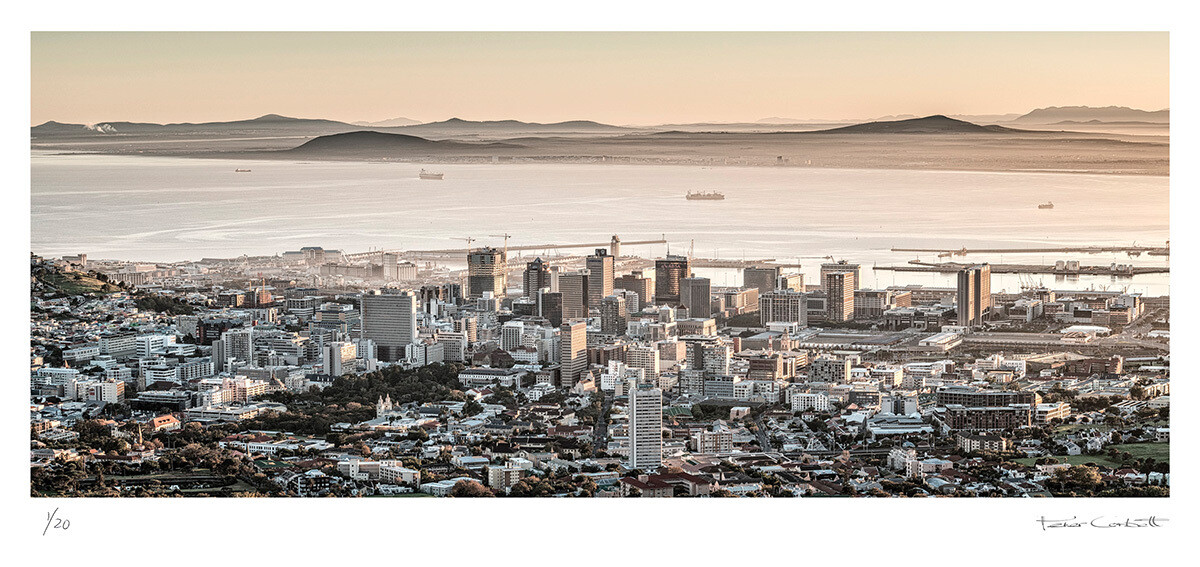 Cape Town Panoramic | Ed 30 | Peter Corbett