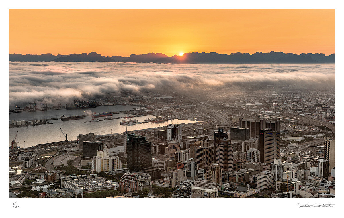 Cape Town Sunrise | Ed 30 | Peter Corbett