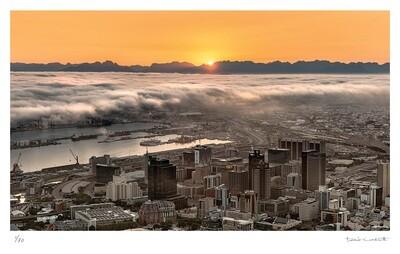 Cape Town Sunrise | Ed 30 | Peter Corbett