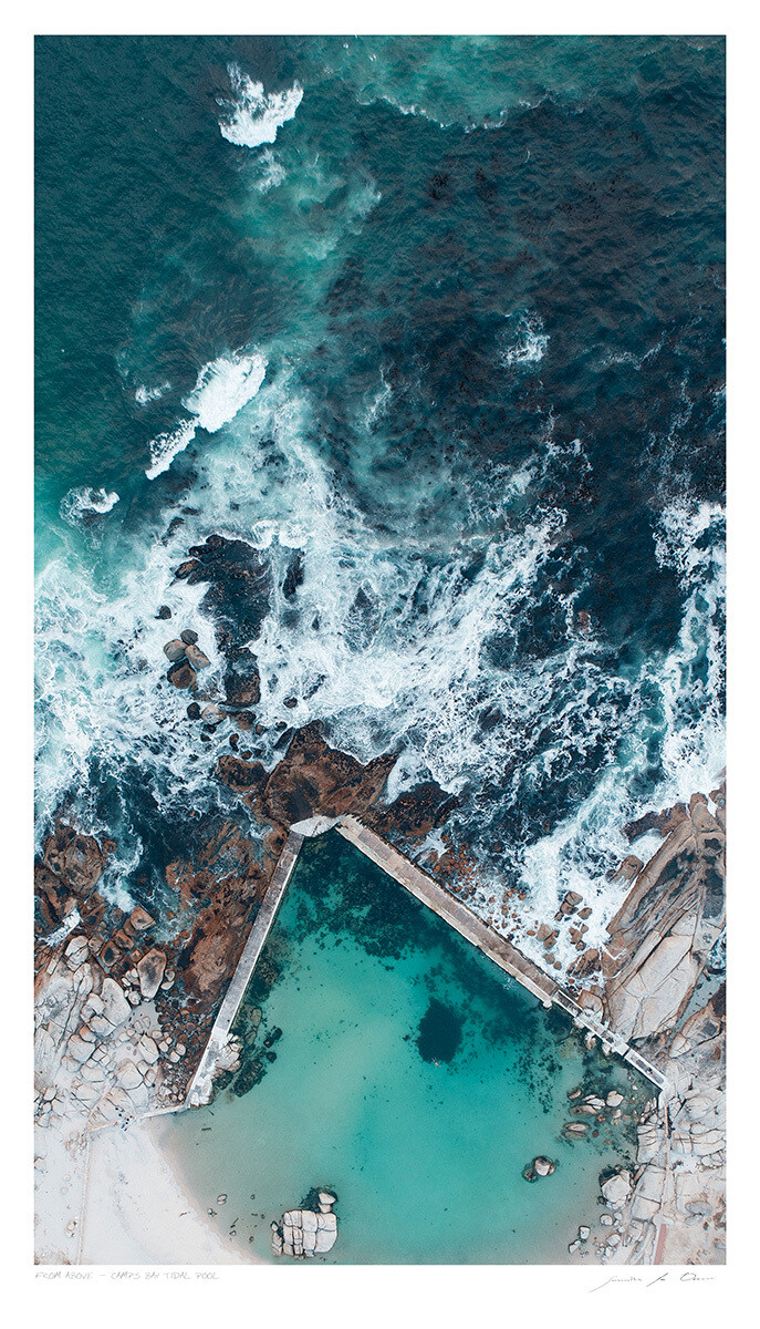 From Above | Camps Bay Tidal Pool | Samantha Lee Osner