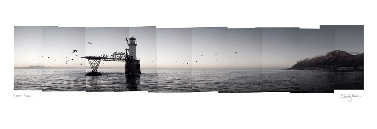 Panoramic Photomontage - Roman Rock | Ed 30 | Sandy Mclea