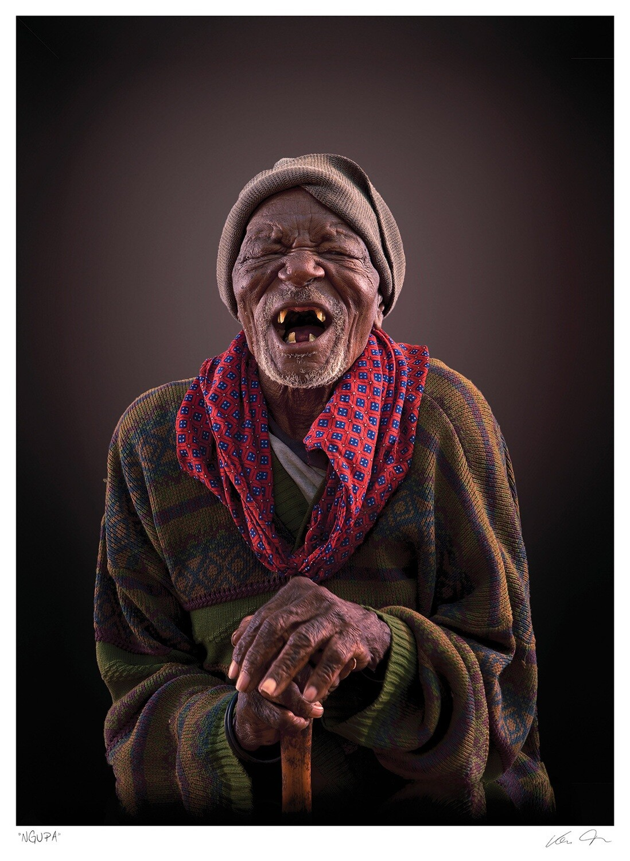 Ngupa Tribal Portrait   Klaus Tiedge