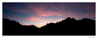 Classic Cape Town   Moon Rise over Constantia Neck   Martin Osner