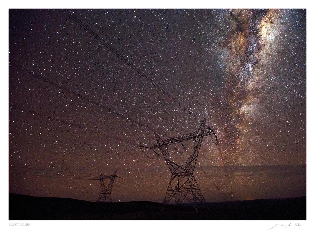 Electric Sky | Samantha Lee Osner