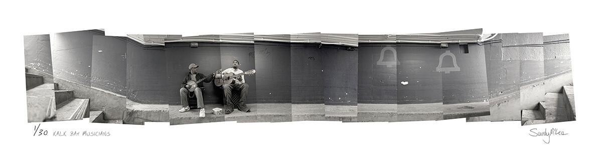 Panoramic Photomontage - Kalk Bay Musicians | Ed 30 | Sandy Mclea