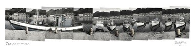 Panoramic Photomontage - Kalk Bay Harbour | Ed 30 | Sandy Mclea