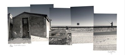 Panoramic Photomontage - Fisherman Blues | Ed 30 | Sandy Mclea
