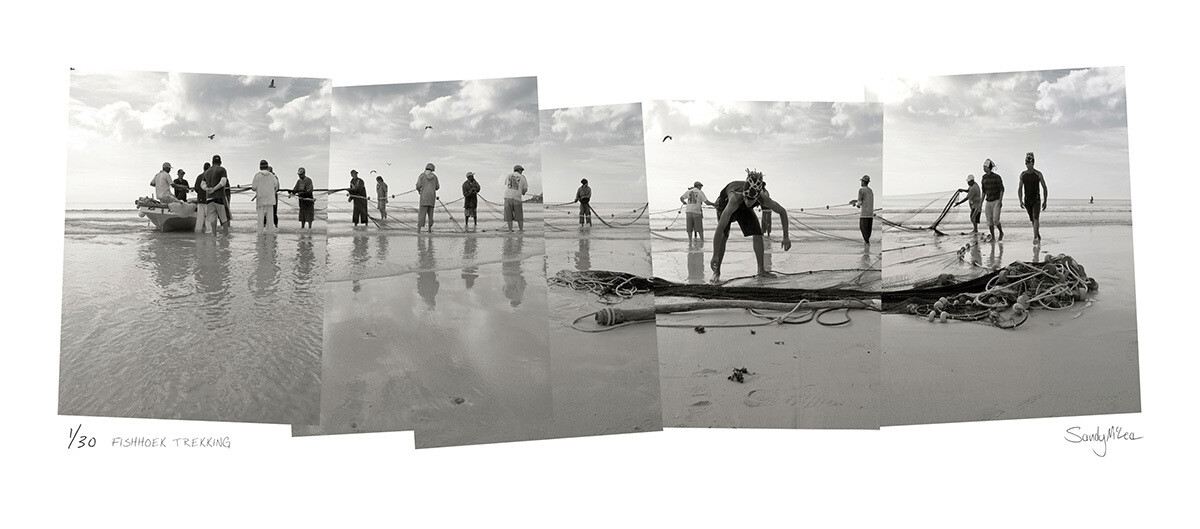 Panoramic Photomontage - Fish Hoek Trekking | Ed 30 | Sandy Mclea