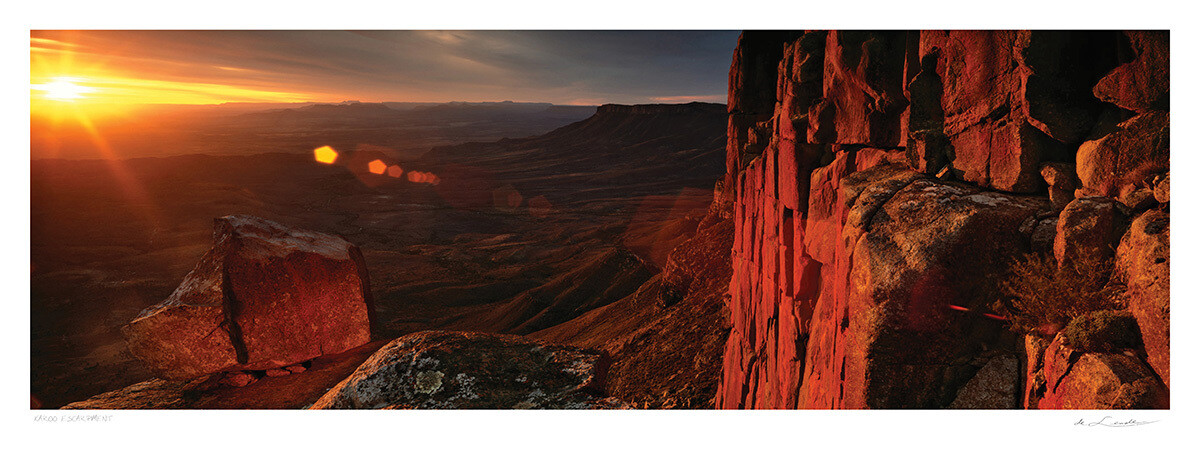 Karoo Escarpment | Ed 25 | Koos van der Lende