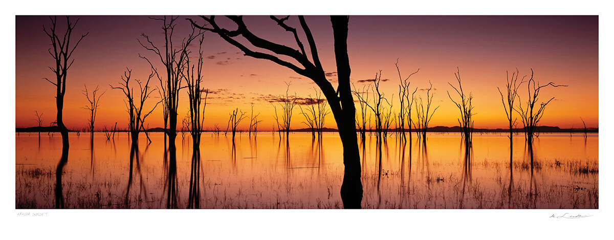 Kariba Sunset | Ed 25 | Koos van der Lende