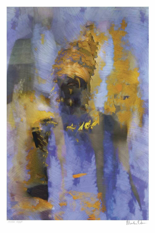 Purple Reign   Ltd Ed (35)   Martin Osner
