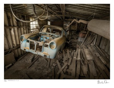 Abandoned No.32 | Ed 35 | Martin Osner