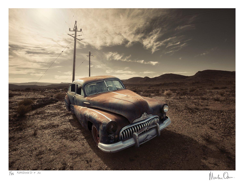 Abandoned No.36 | Ed 35 | Martin Osner