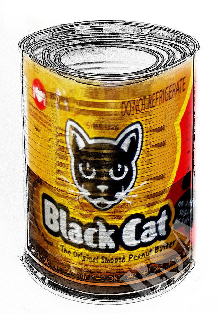 SA in a Can - Black Cat