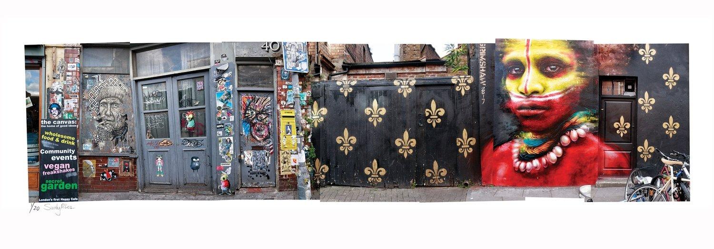 Painted Street - Argue   Sandy Mclea   Ltd Ed (10)
