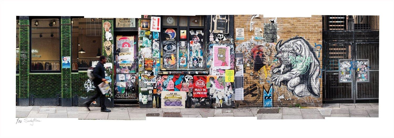 Painted Street - This is the Spot | Sandy Mclea | Ltd Ed (10)