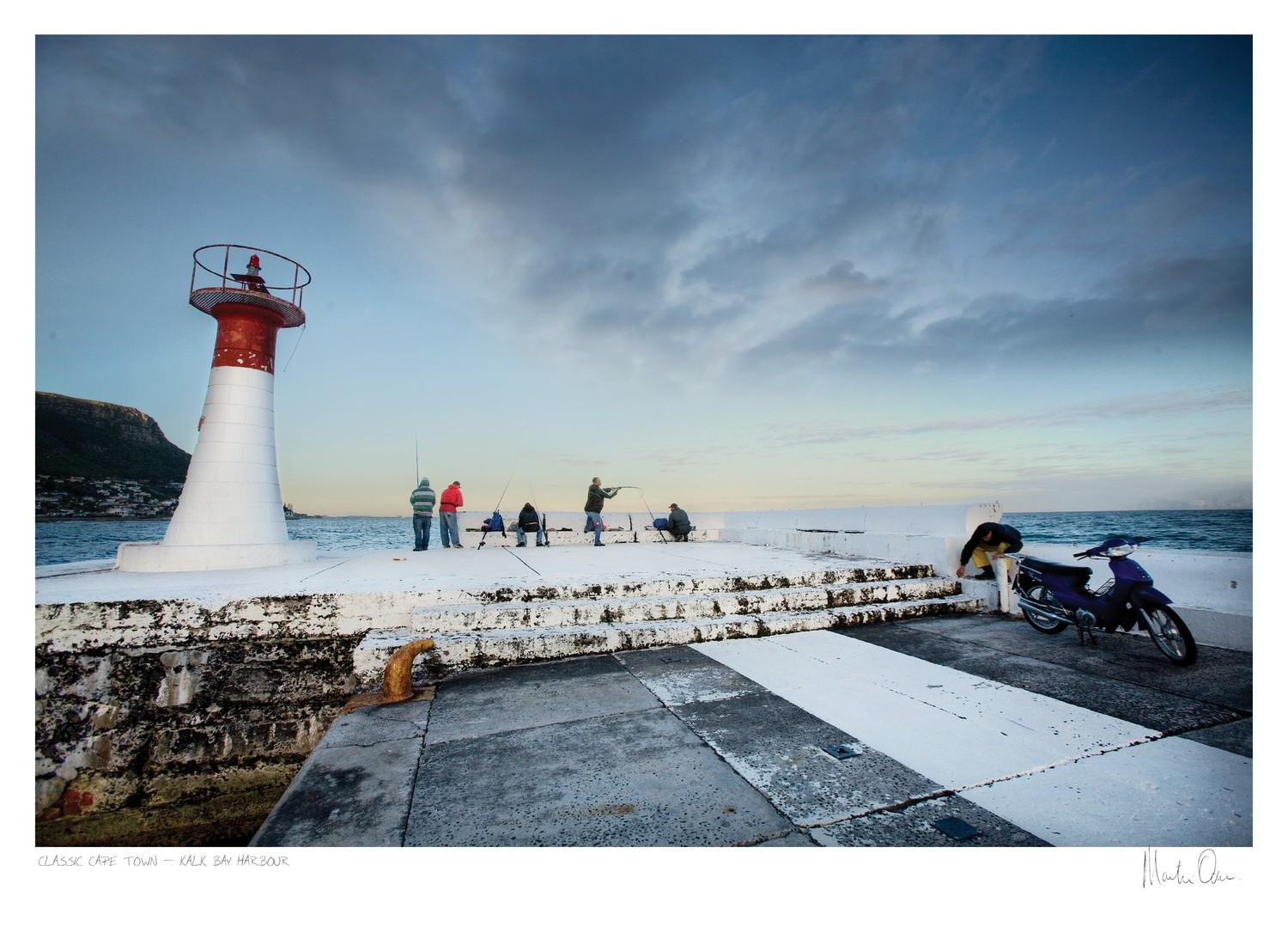 Classic Cape Town | Fishing at Kalk Bay Harbour | Martin Osner