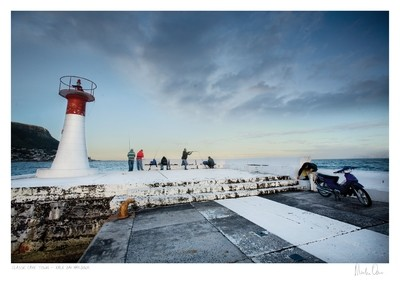 Classic Cape Town   Fishing at Kalk Bay Harbour   Martin Osner