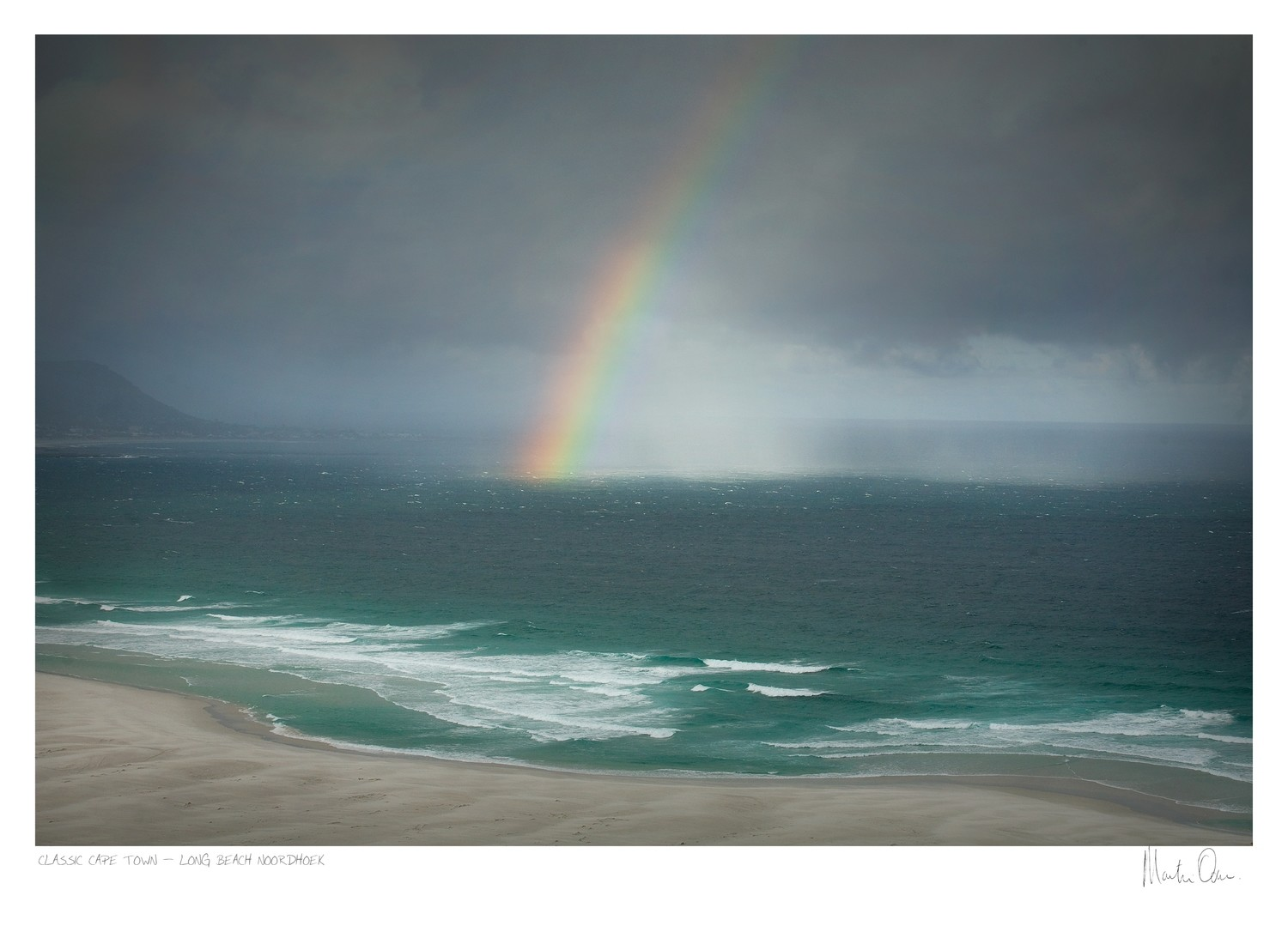 Classic Cape Town | Storm over Kommetjie | Martin Osner