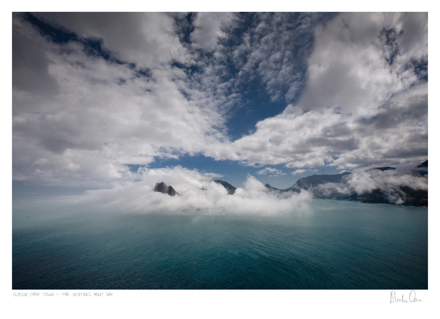 Classic Cape Town | Mist over Hout Bay | Martin Osner