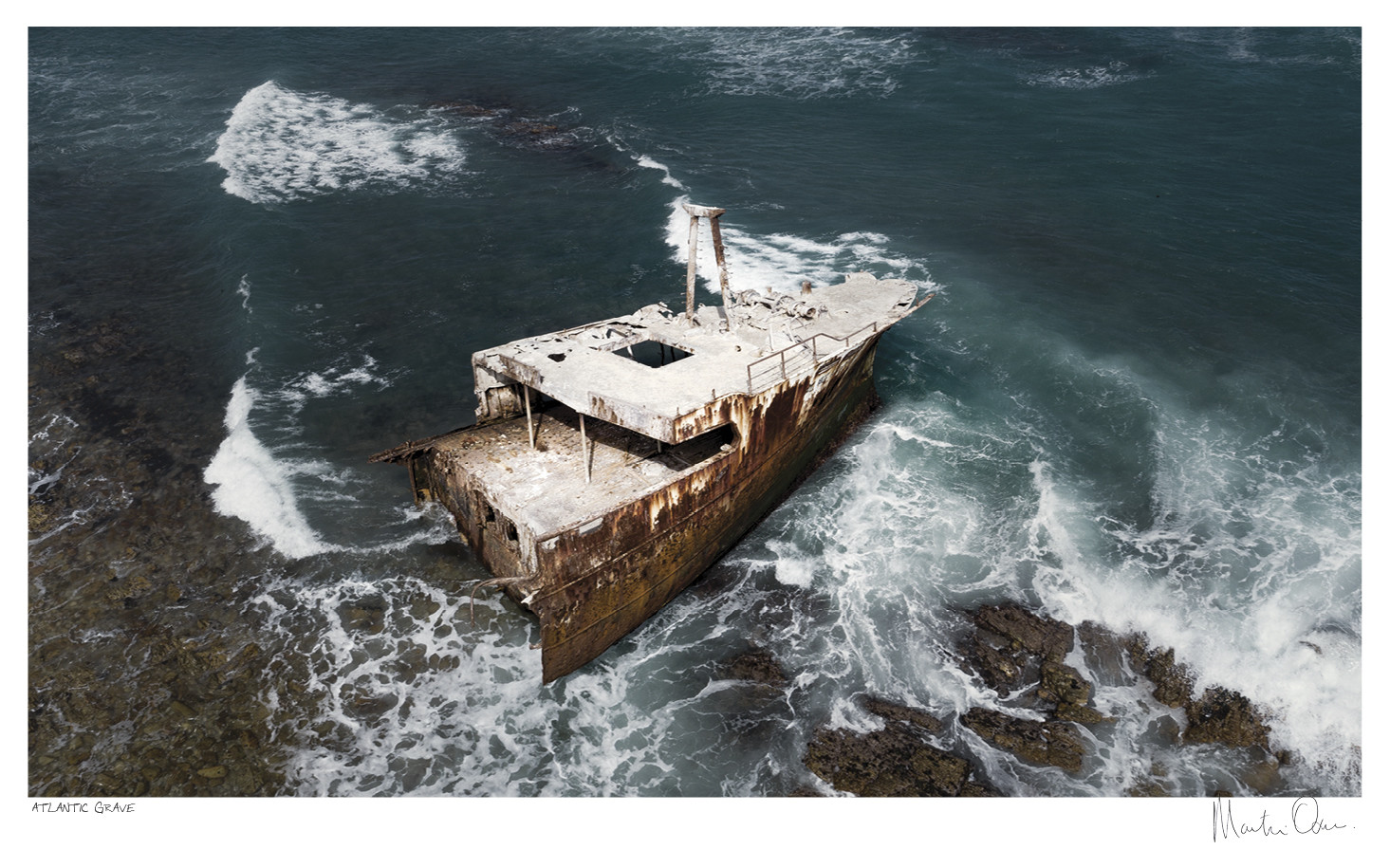 From Above | Atlantic Grave | Martin Osner