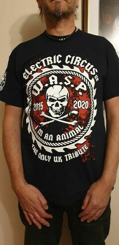 Electric Circus UK Tour shirt