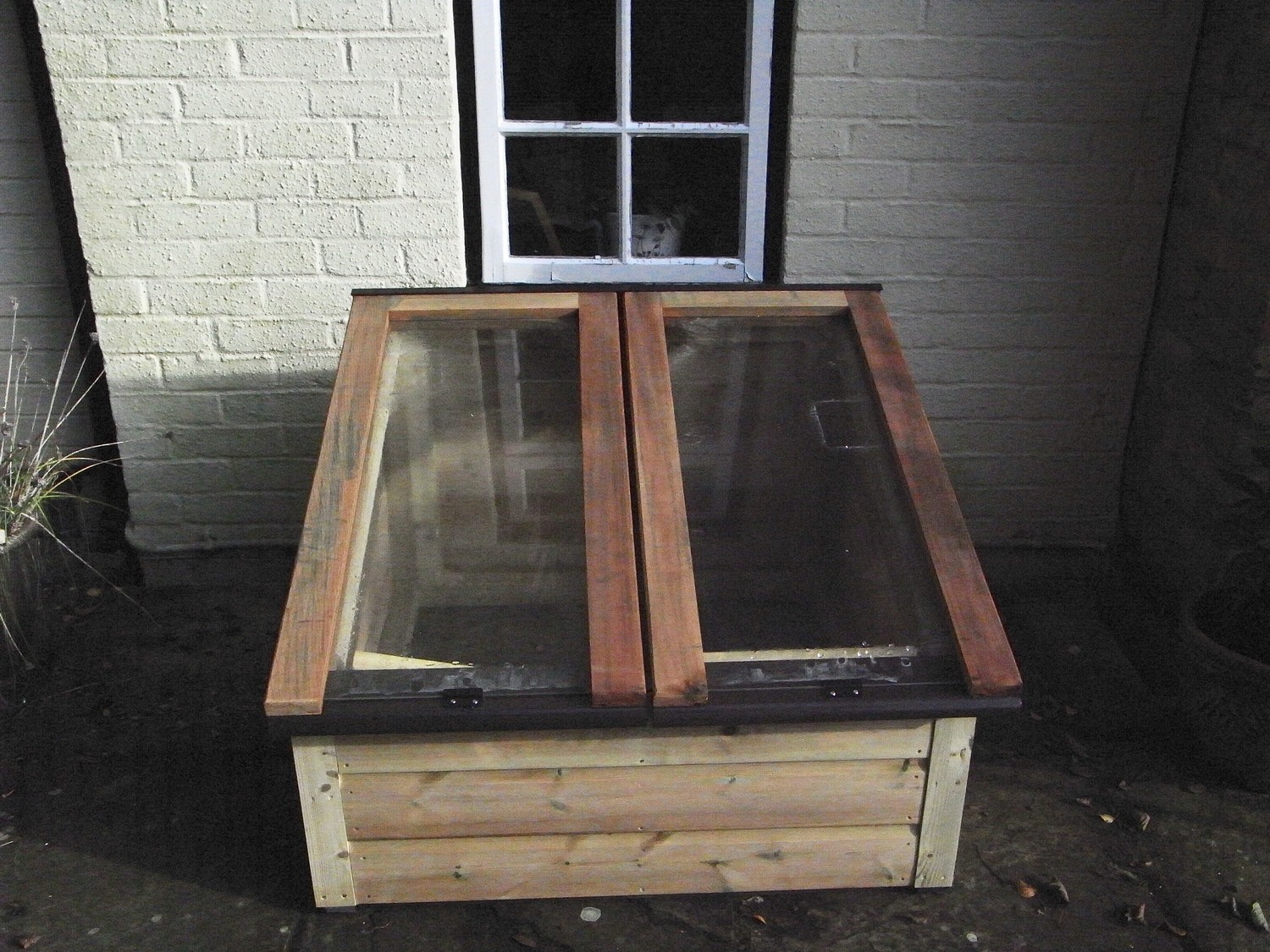 3ft x 3ft Tanalised Coldframe