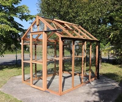 6ft x 8ft Seedarhouse