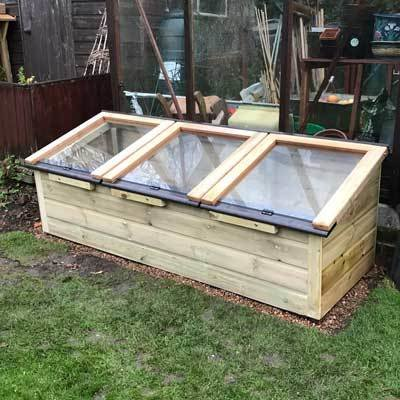 6ft x 2ft Tanalised Coldframe