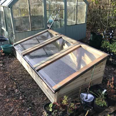 6ft x 3ft Tanalised Coldframe