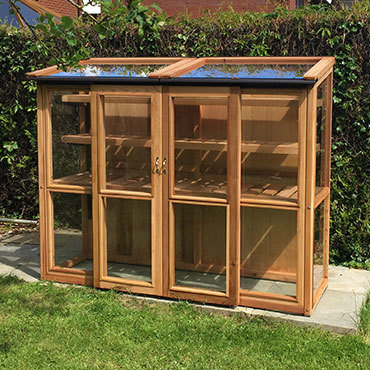 6ft x 2ft, 5ft Tall Cedar Coldframe