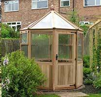 Loxley Octagonal Cedar Greenhouse 6ft 6