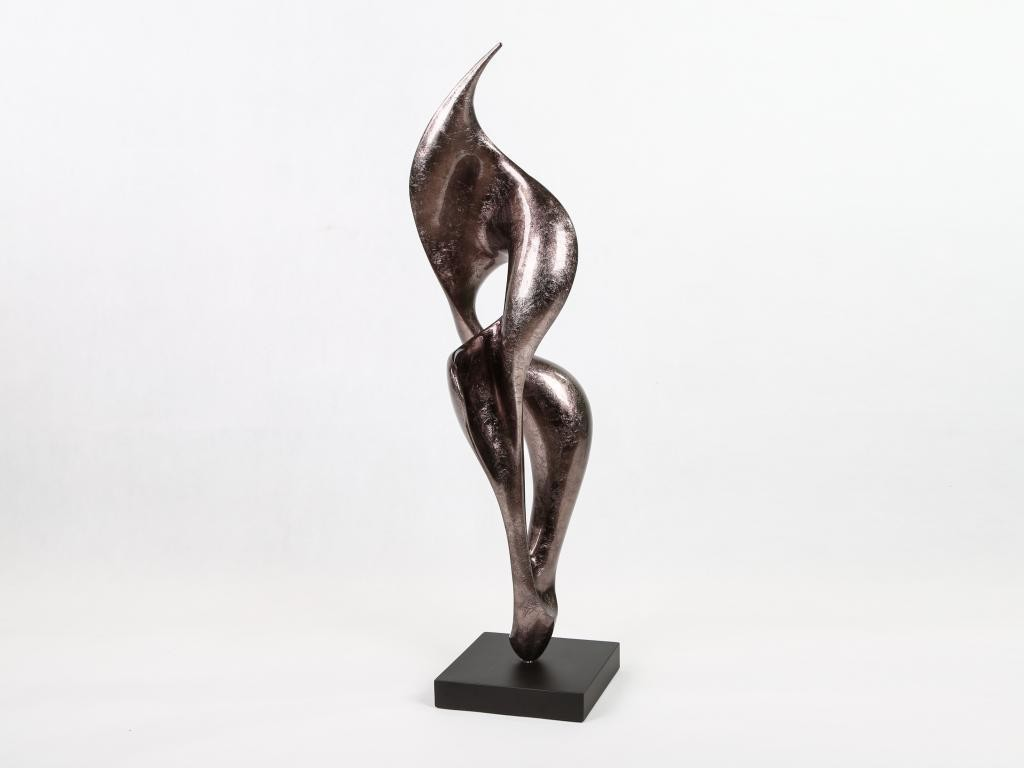Fulgur Sculpture Warm Silver