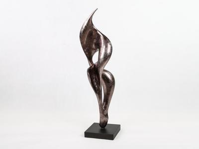 Fulgur Sculpture Warm Silver