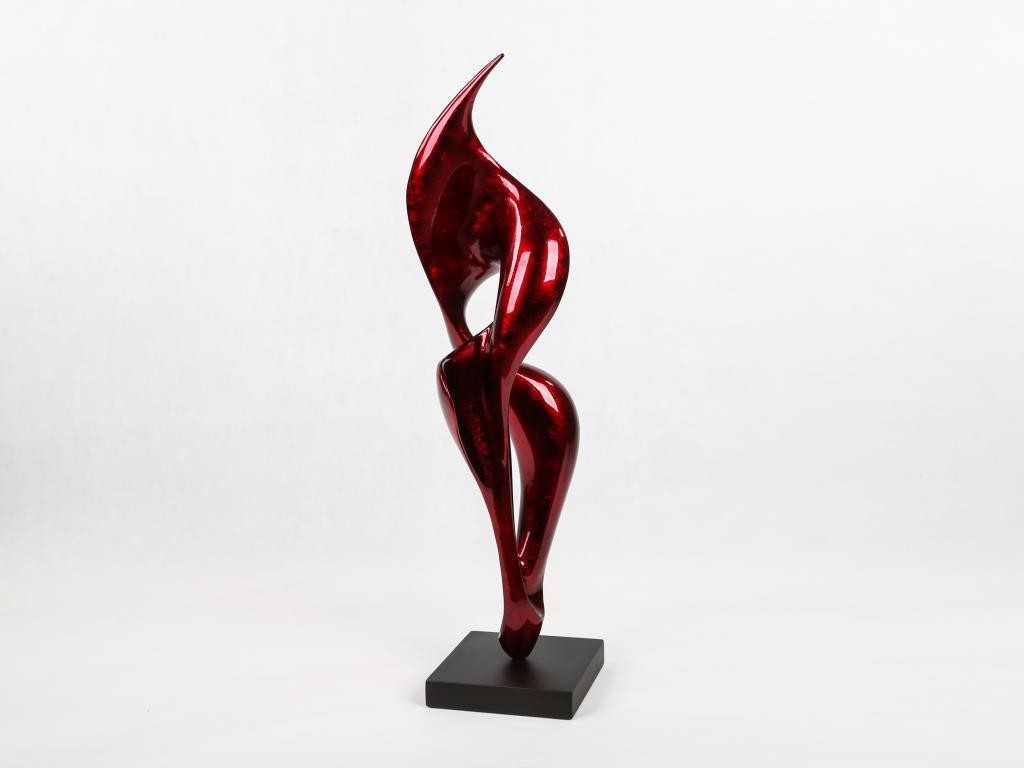 Fulgur Sculpture Warm Red
