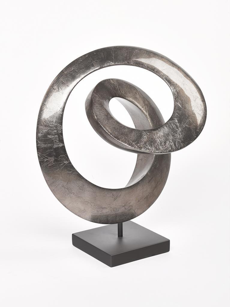 Sinus Sculpture Warm Silver
