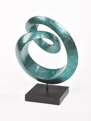 Sinus Sculpture Blue Grey