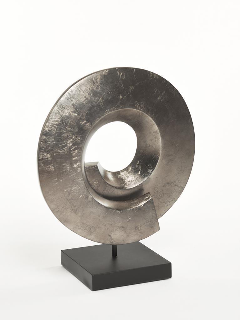 Circum 55 Sculpture Warm Silver Matt