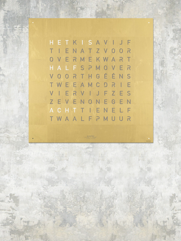 QlockTwo Classic Gold Creator's Edition