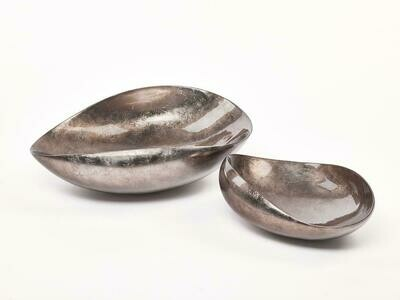 Bowl Dune Small Warm Silver