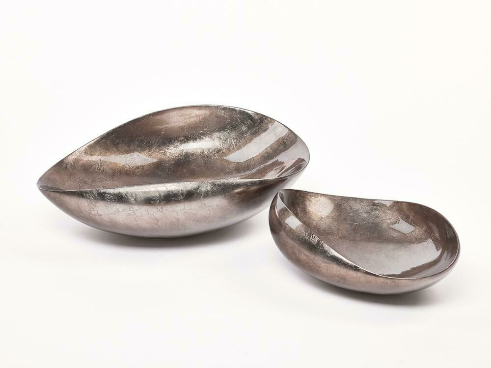 Bowl Dune Large Warm Silver