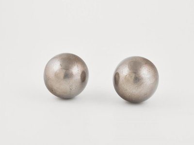 Deco Ball Warm Silver